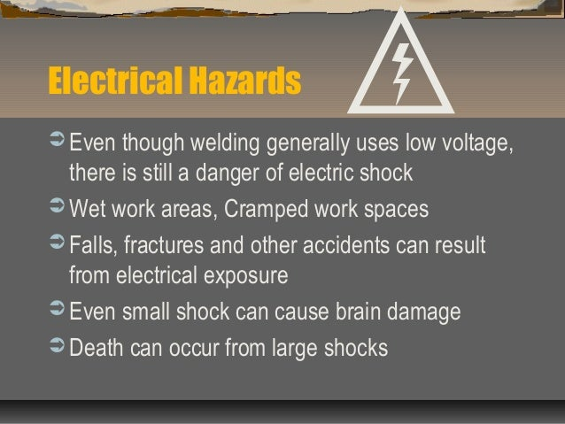 Welding Safety Hazard