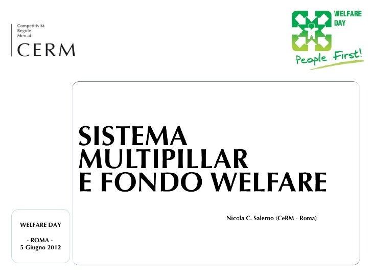 WELFARE DAY  - ROMA -5 Giugno 2012