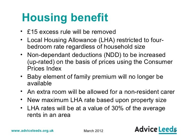 Housing Benefit - UK Benefits Guide