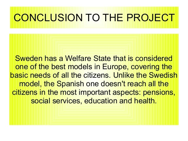 So Long, Swedish Welfare State?