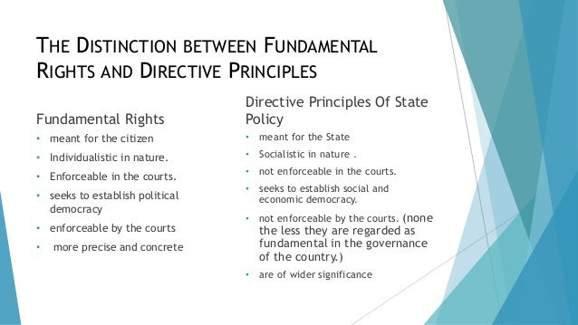conflict between fundamental rights and directive principles of state policy