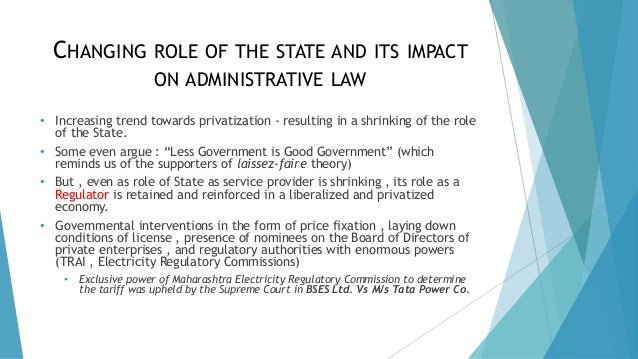 administrative law state administration Edward l metzler,the growth and development of administrative law course in part to administration by degrees that a central state administrative or.