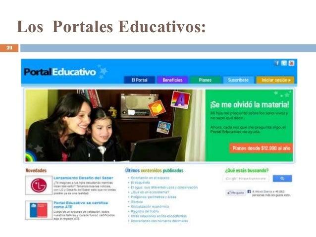Los Portales Educativos: 21