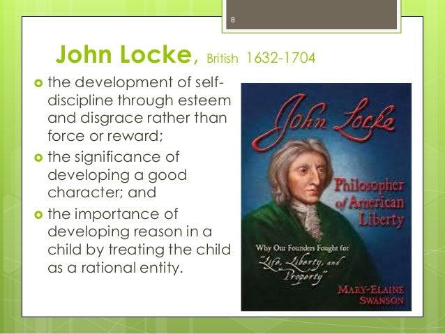 child development by john locke What implications does locke's view of human development eg,  theory of development: john lock's environmentalism  child care classroom subjects.