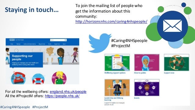 #Caring4NHSPeople virtual wellbeing session 14th July 2021 Slide 3