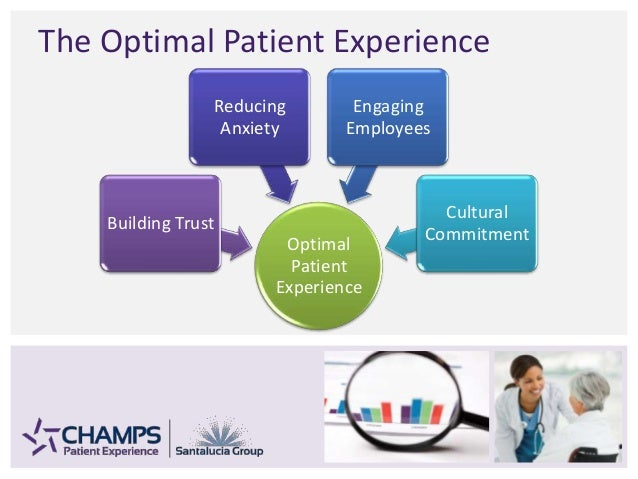 The Optimal Patient Experience Optimal Patient Experience Building Trust Reducing Anxiety Engaging Employees Cultural Comm...