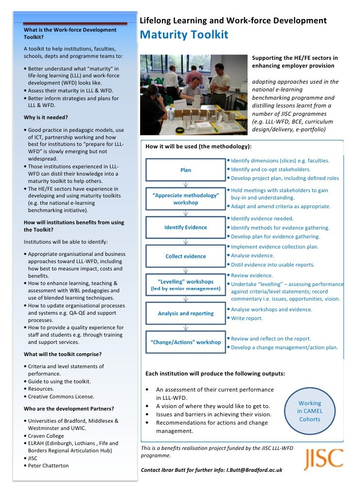 Lifelong Learning and Work-force Development What is the Work-force Development Toolkit?                                  ...