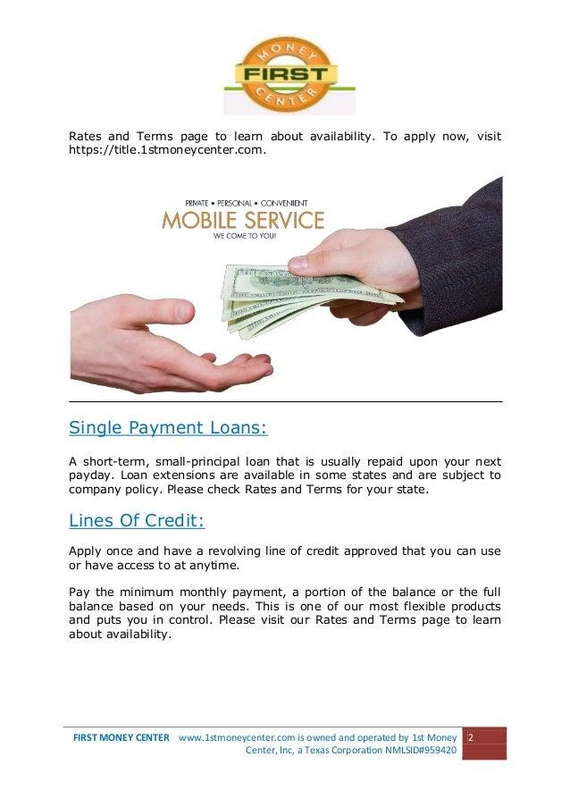 Ohio fast cash advance loan photo 2