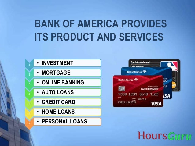bank of america hours locations and hours