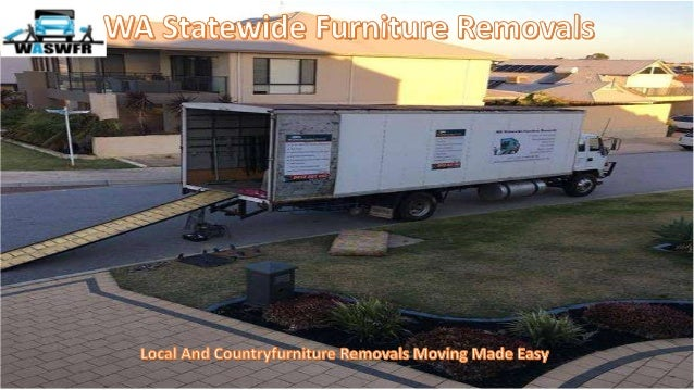 Well Equipped WA StateWide Furniture Removals Ready For Any Move