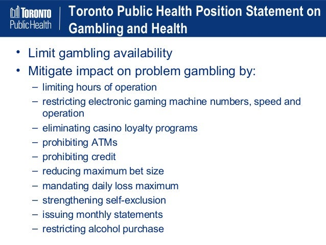 the rise of casino gambling as a negative effect on the community Most people who gamble don't experience serious negative consequences and neither do the communities where casinos are built.