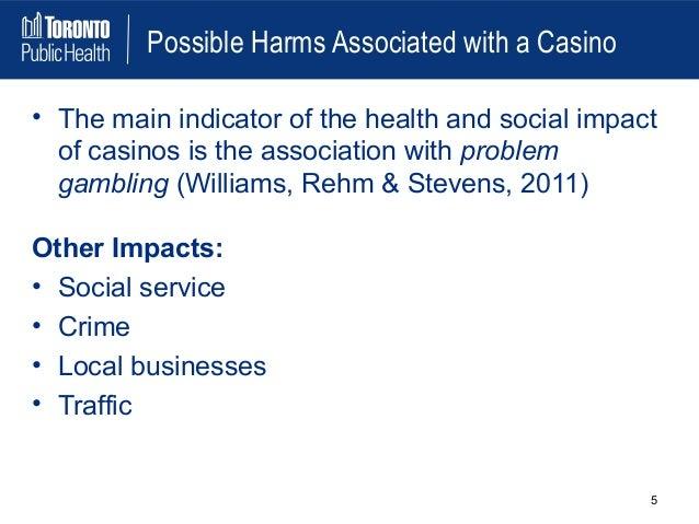 Social impact of casino gambling casino rental southern california