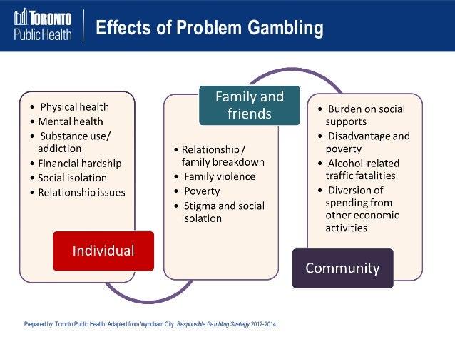 Health effects of problem gambling last vegas casino lines