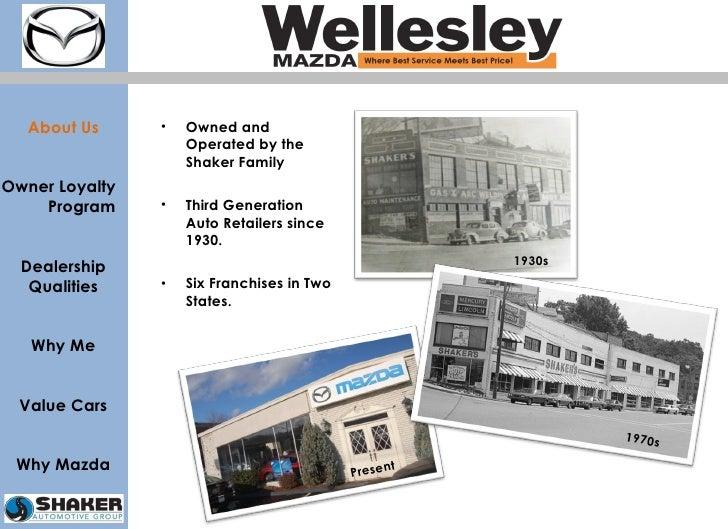 <ul><li>Owned and Operated by the Shaker Family </li></ul><ul><li>Third Generation Auto Retailers since 1930. </li></ul><u...