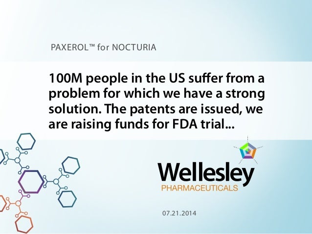 100M people in the US suffer from a problem for which we have a strong solution. The patents are issued, we are raising fun...