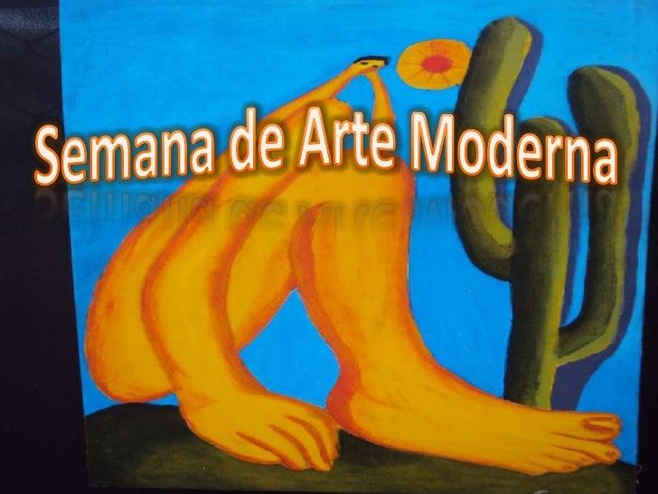 Semana de Arte Moderna<br />