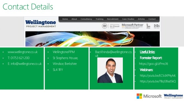 Innovative Methods and Technologies in Project Management: Project Management Technologies, Baz Khinda, Microsoft PPM cons...