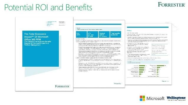 Project Why Organisations Selected Microsoft PPM