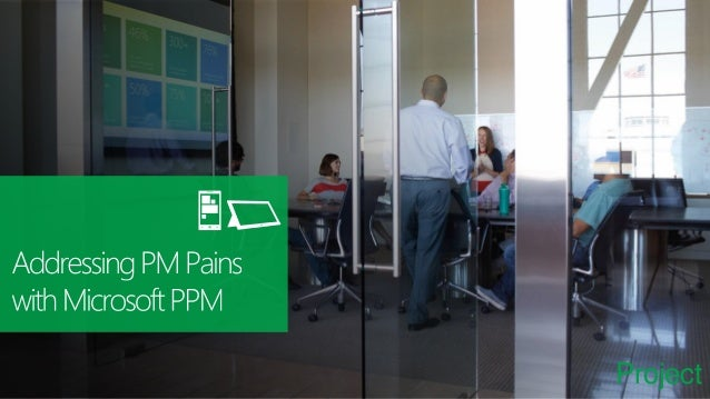 Components of Microsoft PPM One version of the trust