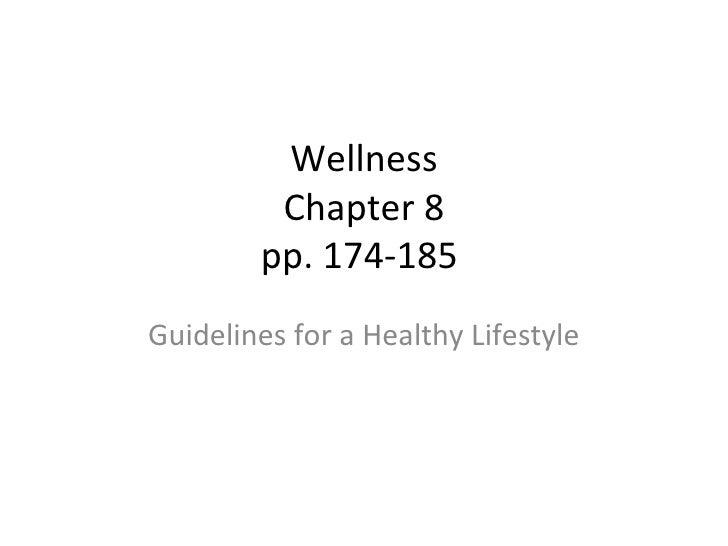 Wellness Chapter 8