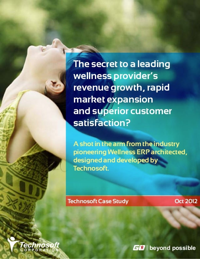 The secret to a leading wellness provider's revenue growth, rapid market expansion and superior customer satisfaction? A s...