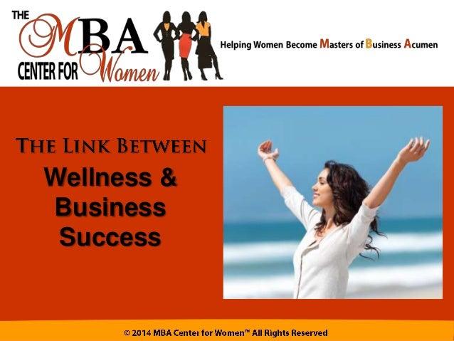 Wellness & Business Success