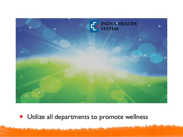With wellness, is it reallyno margin, no mission?