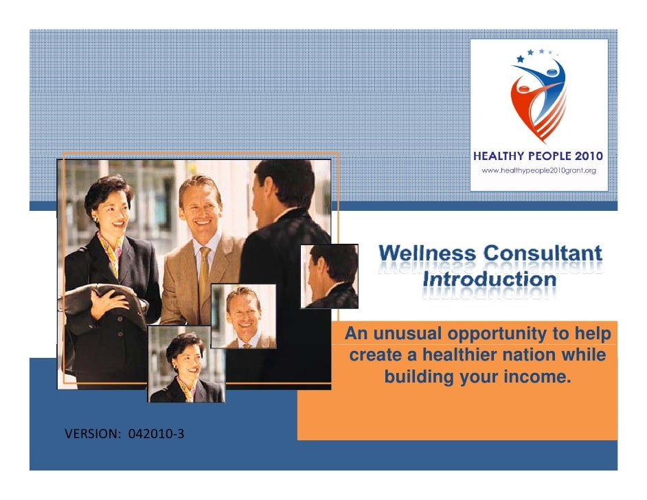 An unusual opportunity to help                      create a healthier nation while                          building your...