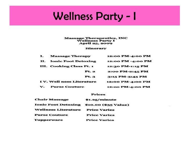 Wellness Party - I
