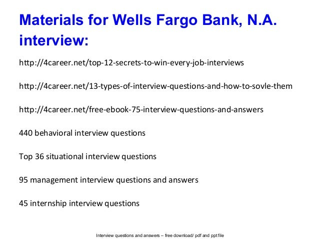 interview questions and answers - Bank Teller Interview Questions And Answers