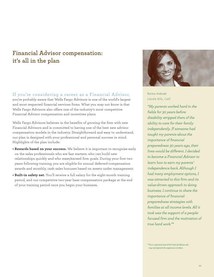 Wells Fargo Financial Advisor Program Brochure