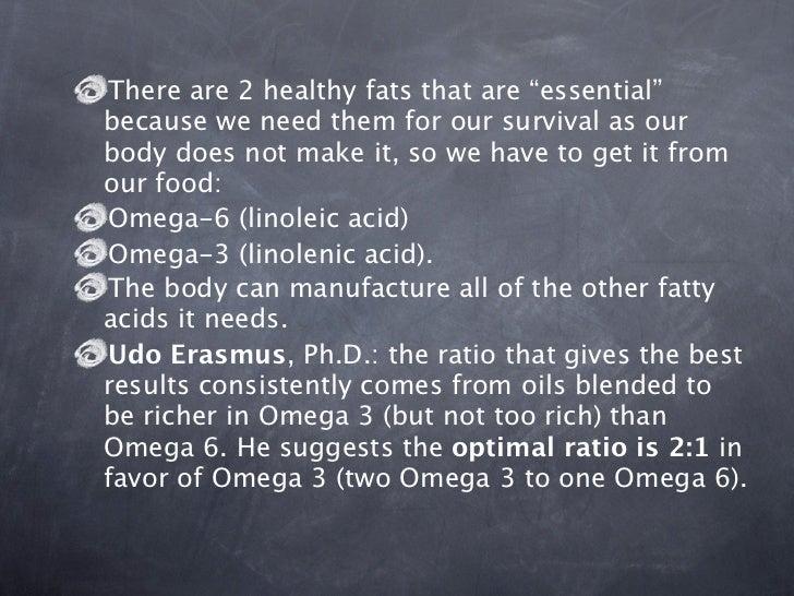Omega-6 = predominantlyin seeds, nuts, grains andleafy vegetables. Grapeseed oil, pumpkinseeds, sesame oil, walnutoil, pin...