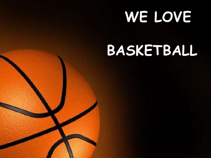 We love basketball we love basketballfree powerpoint templates page 1 nature basketball toneelgroepblik Image collections
