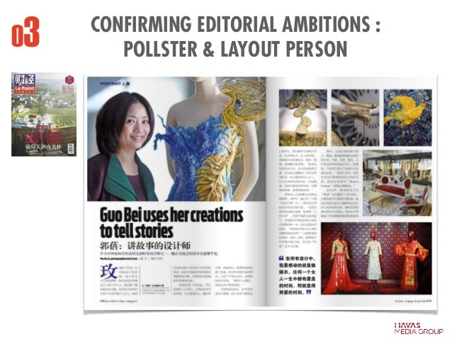 CONFIRMING EDITORIAL AMBITIONS : POLLSTER & LAYOUT PERSON03