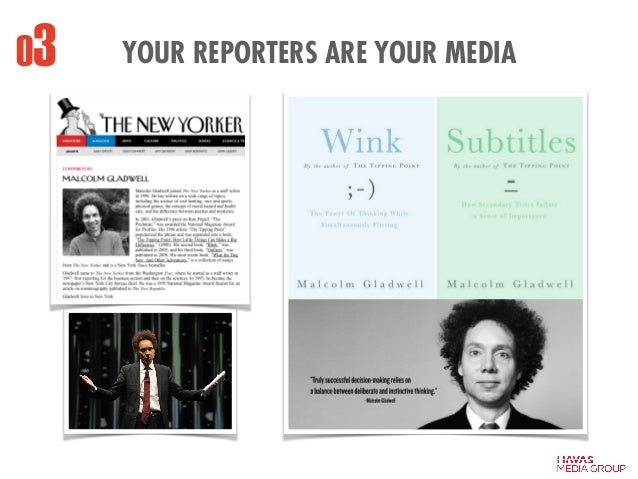 03 YOUR REPORTERS ARE YOUR MEDIA
