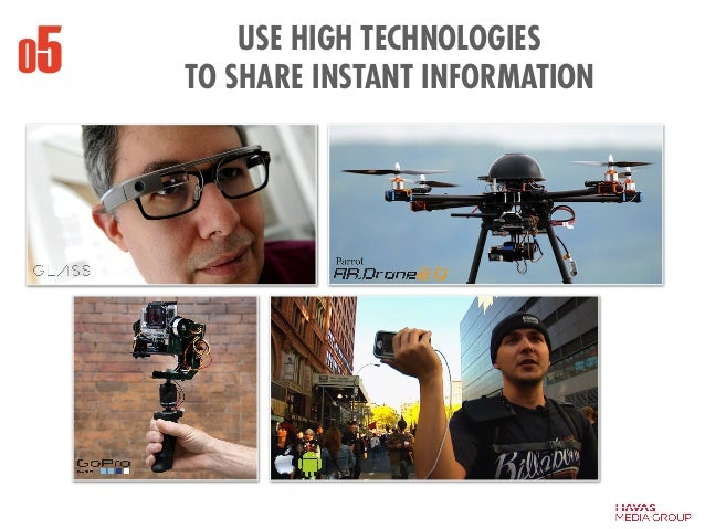 USE HIGH TECHNOLOGIES TO SHARE INSTANT INFORMATION05