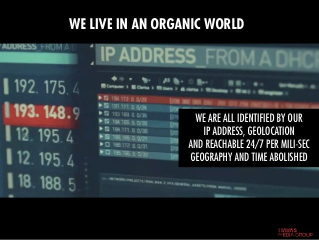WE ARE ALL IDENTIFIED BY OUR IP ADDRESS, GEOLOCATION AND REACHABLE 24/7 PER MILI-SEC GEOGRAPHY AND TIME ABOLISHED WE LIVE ...