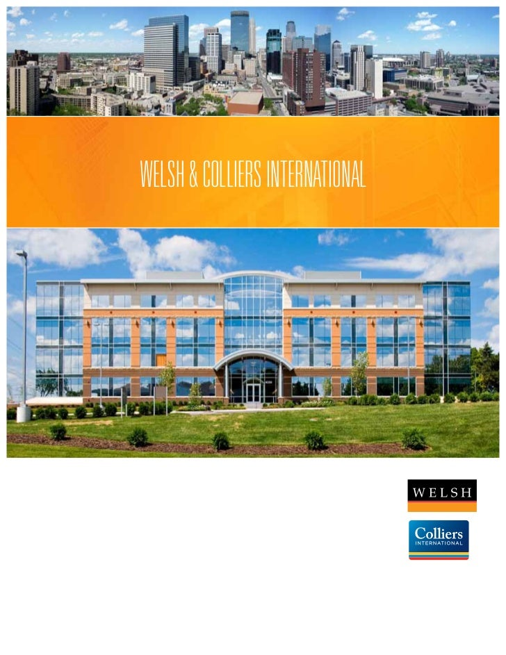 WELSH & COLLIERS INTERNATIONAL