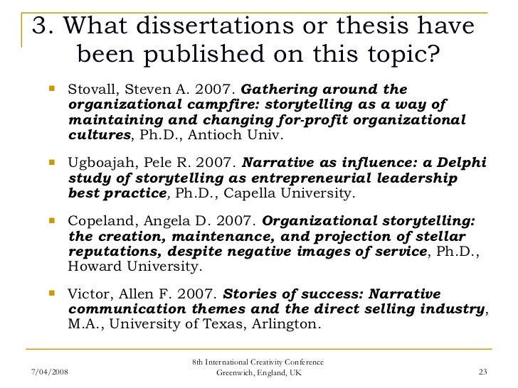 thesis on change leadership