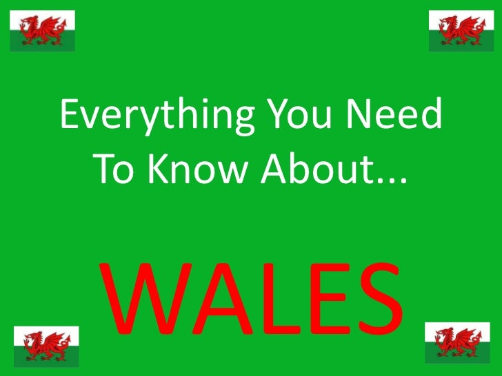 Everything You Need  To Know About... WALES