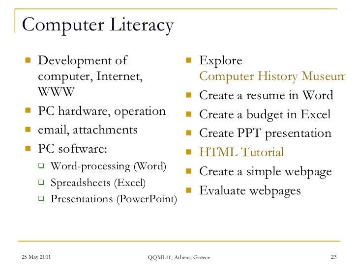 computer skills resume examples - Selomdigitalsite