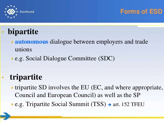difference between bipartite and tripartite relationship