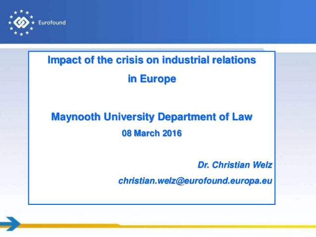 Impact of globalization on industrial relations