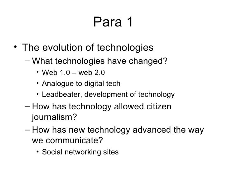 haier what is technological change essay Technology and social change technological advances such as automobiles, airplanes, radio, television, cellular phones, computers, modems.