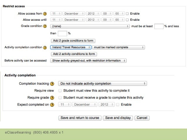 Moodle 2.2 – Online Text  •Entire student entry   is displayed on same   page teacher uses to   enter feedback.  •Student'...