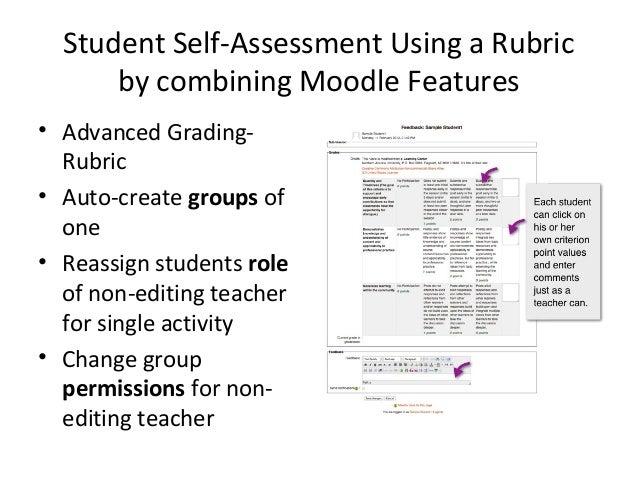 Student as 'Non-editing Teacher' Grade View