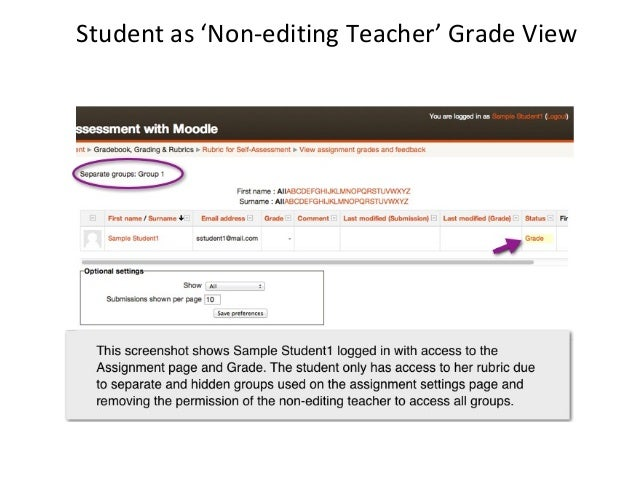 Further Info: Using a Rubric for Self-Assessment• Check blog post at  www.eclass4learning.com• Check Moodle Reference  Des...