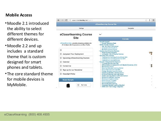 MyMobile Theme• Screenshots from an  iPad• The user has the  choice of using one or  two column display• The system admin ...