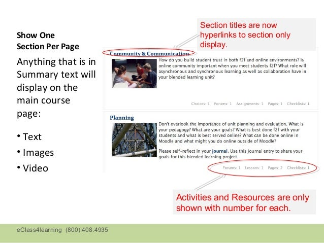 Section titles are nowShow One                               hyperlinks to section onlySection Per Page                   ...