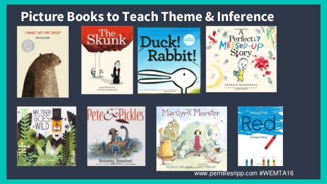 Wemta Picture Books In The Middle And Secondary Classroom